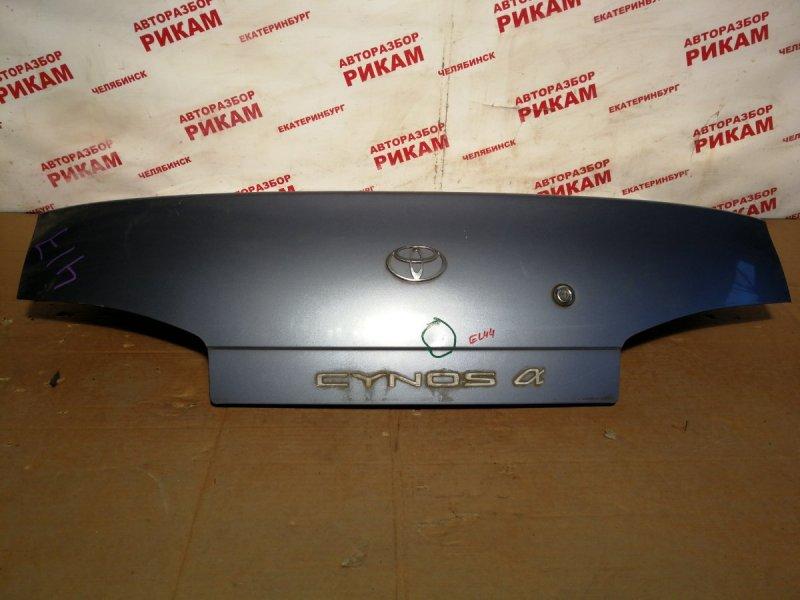 Крышка багажника Toyota Cynos EL44