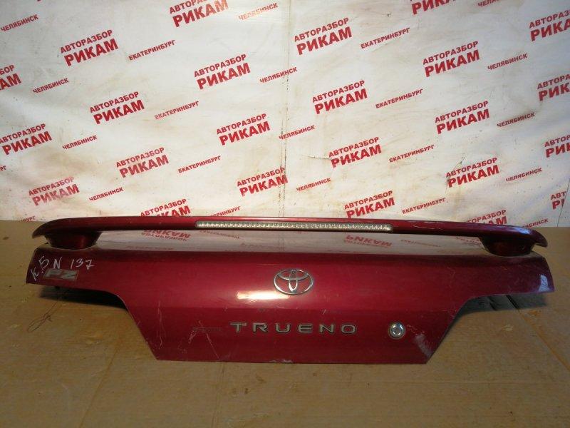 Крышка багажника Toyota Sprinter Trueno AE111