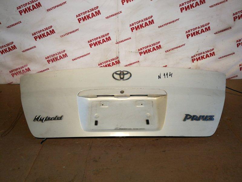 Крышка багажника Toyota Prius NHW10