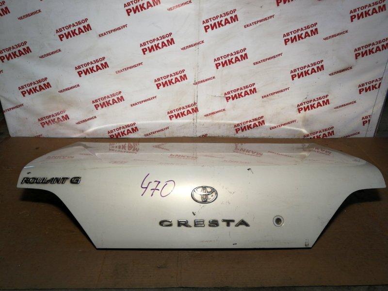 Крышка багажника Toyota Cresta GX100