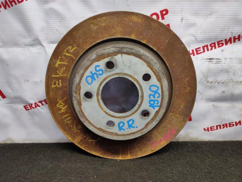 Диск тормозной Volvo S40 MS38 B5244S4 2006 задний