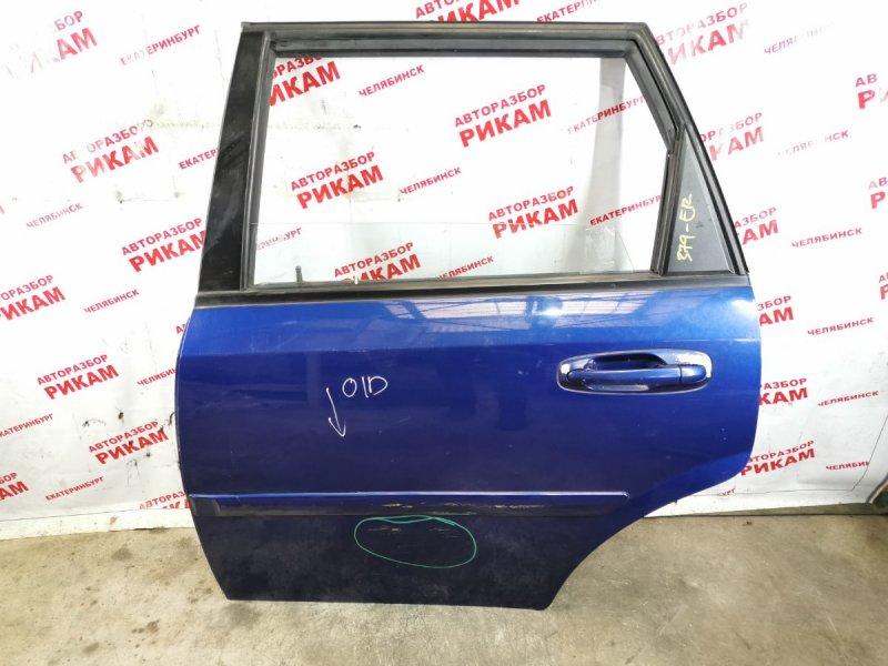 Дверь Chevrolet Lacetti J200 F18D3 2005 задняя левая