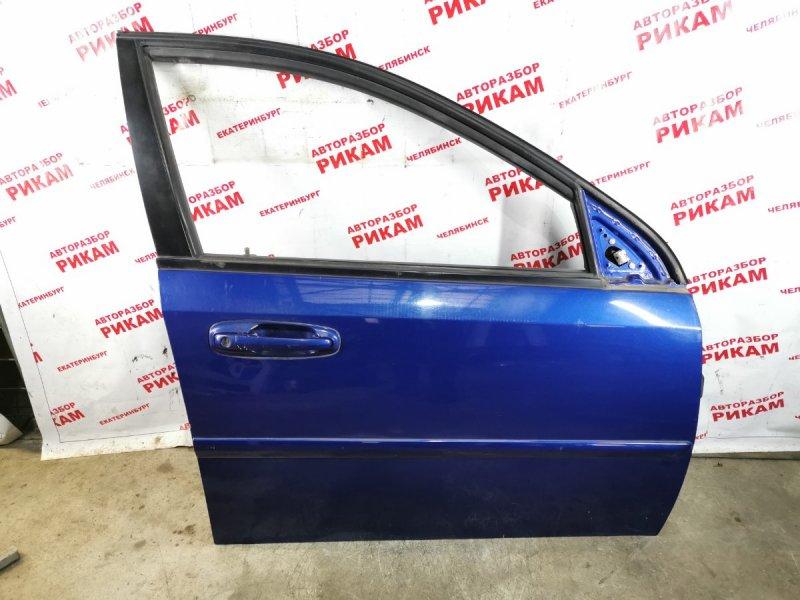 Дверь Chevrolet Lacetti J200 F18D3 2005 передняя правая