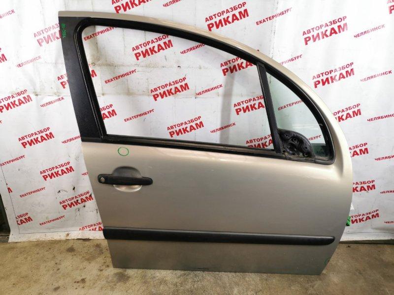Дверь Citroen C3 F TU5JP 2007 передняя правая