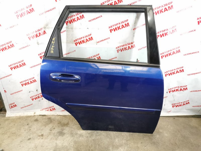 Дверь Chevrolet Lacetti J200 F18D3 2005 задняя правая