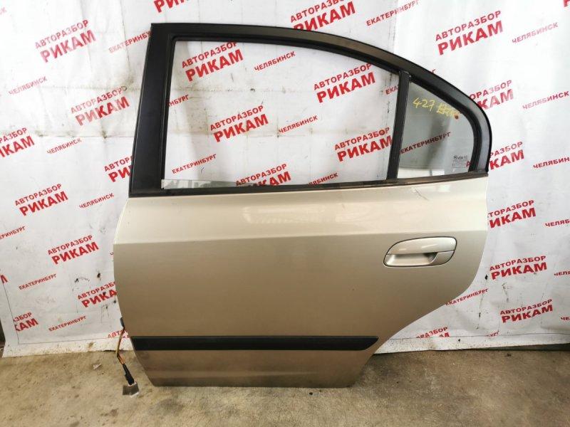 Дверь Hyundai Elantra XD G4GC 2005 задняя левая