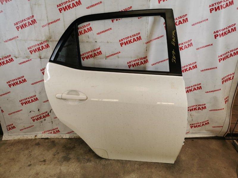 Дверь Toyota Auris ZRE152 2ZR-FE 2010 задняя правая