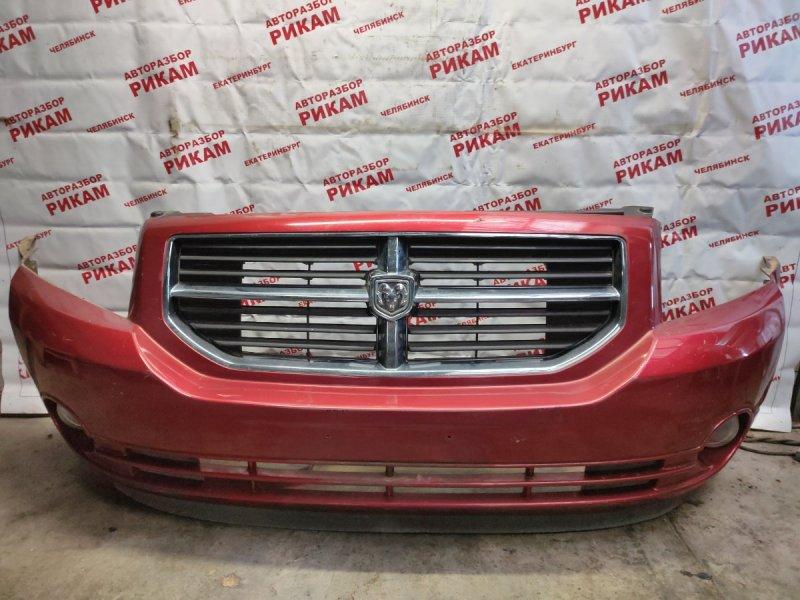 Бампер Dodge Caliber PM ECD 2007 передний