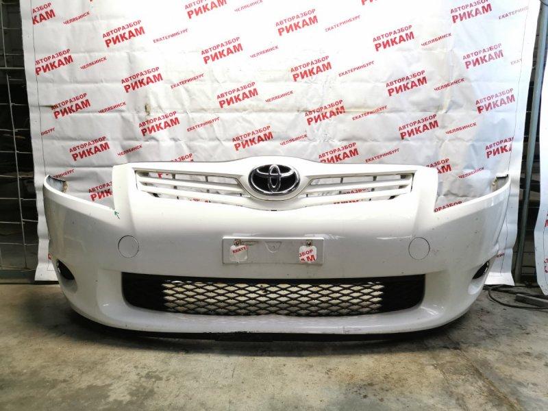 Бампер Toyota Auris ZRE152 2ZR-FE 2010 передний