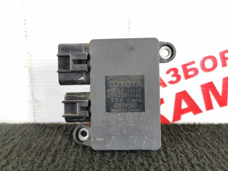 Блок управления вентилятором Toyota Auris ZRE152 2ZR-FE 2010