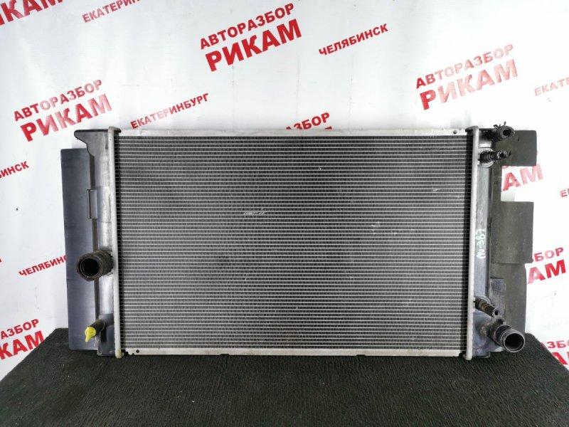 Радиатор охлаждения Toyota Auris ZRE152 2ZR-FE 2010