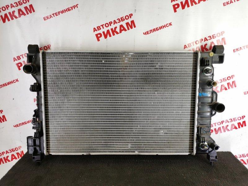 Радиатор охлаждения Chevrolet Aveo T300 F16D4 2015