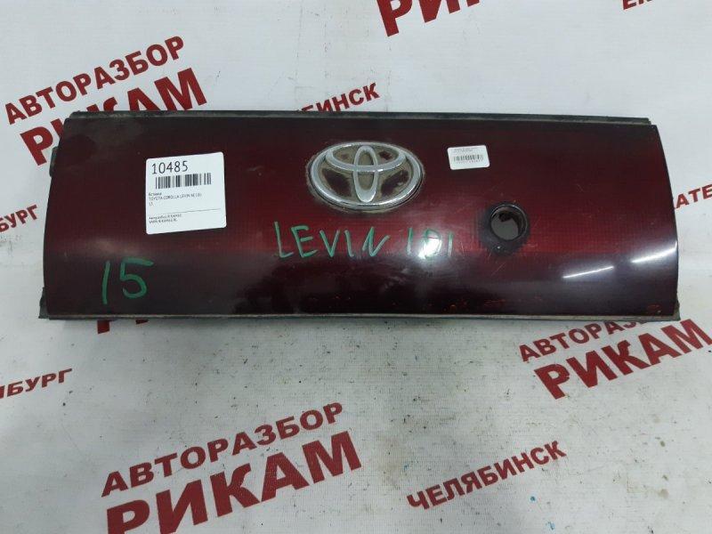 Вставка Toyota Corolla Levin AE100