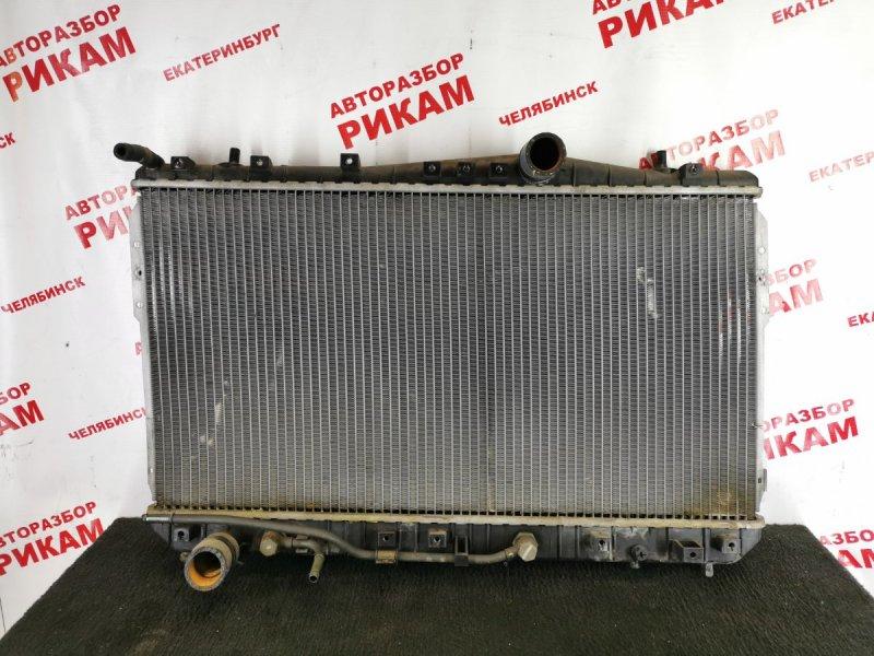 Радиатор охлаждения Chevrolet Lacetti J200 F18D3 2005