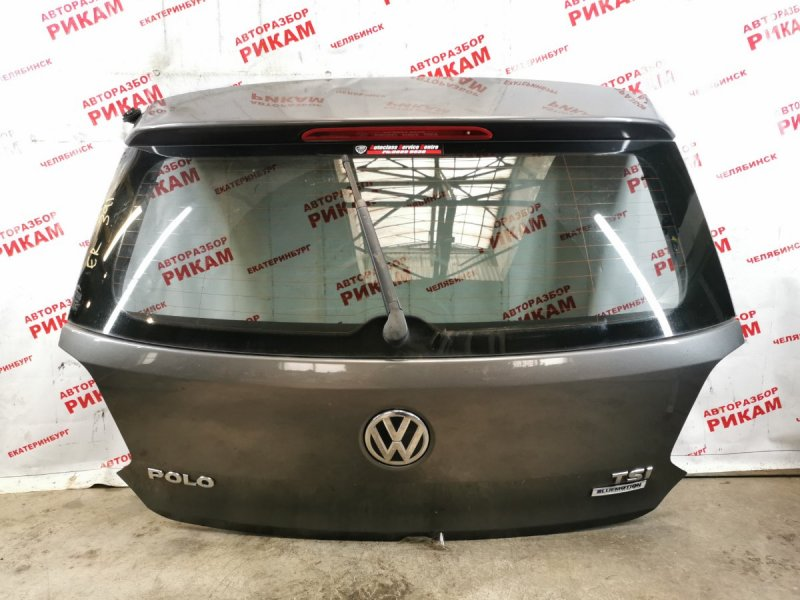 Дверь багажника Volkswagen Polo 6R1 CJZ 2014