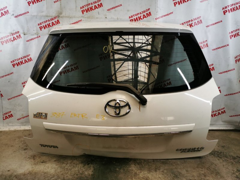 Дверь багажника Toyota Auris ZRE152 2ZR-FE 2010