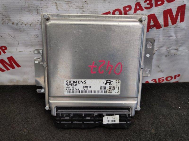 Блок управления Hyundai Elantra XD G4GC 2005