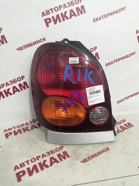 Стоп-сигнал Toyota Corolla Spacio AE111 левый