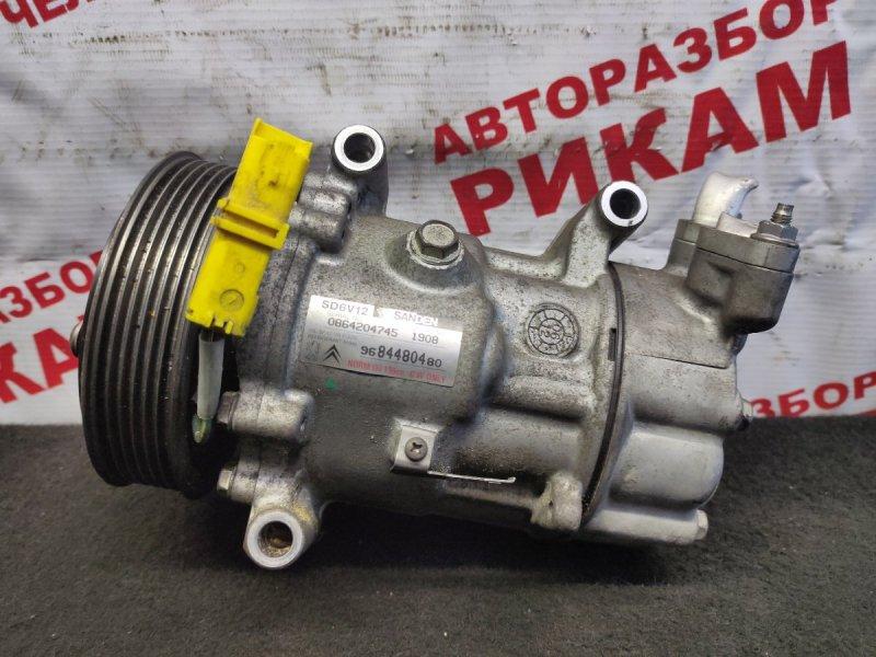 Компрессор кондиционера Citroen C3 F TU5JP 2007