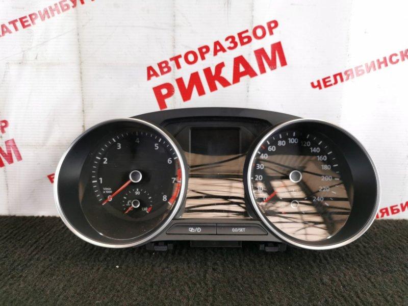 Панель приборов Volkswagen Polo 6R1 CJZ 2014