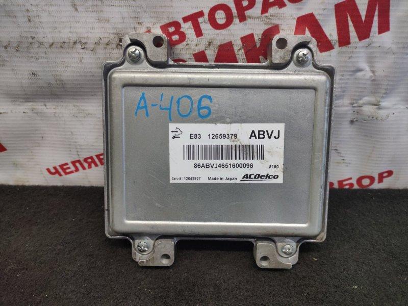 Блок управления Chevrolet Aveo T300 F16D4 2015