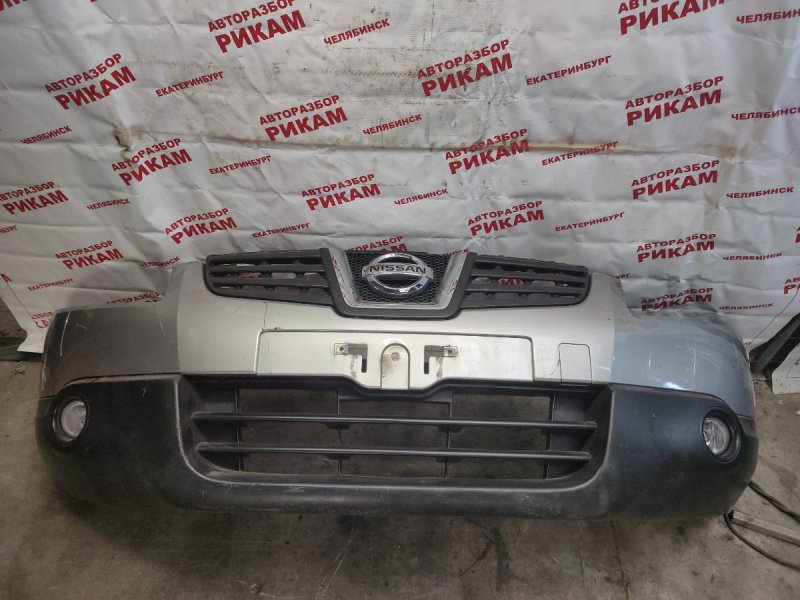 Бампер Nissan Qashqai J10 MR20DE 2009 передний