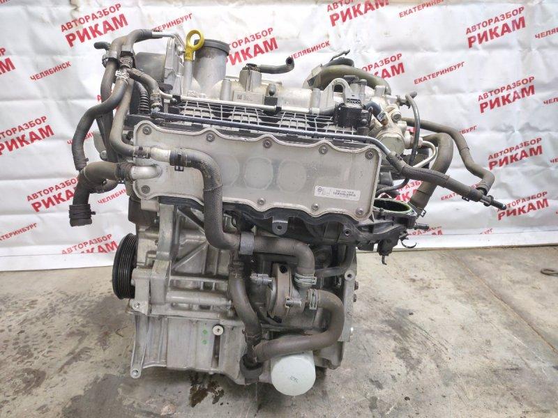 Двигатель Volkswagen Polo 6R1 CJZ 2014