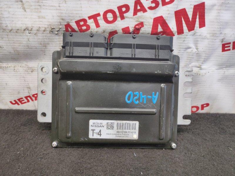Блок управления Nissan Almera N16 QG18DE 2004
