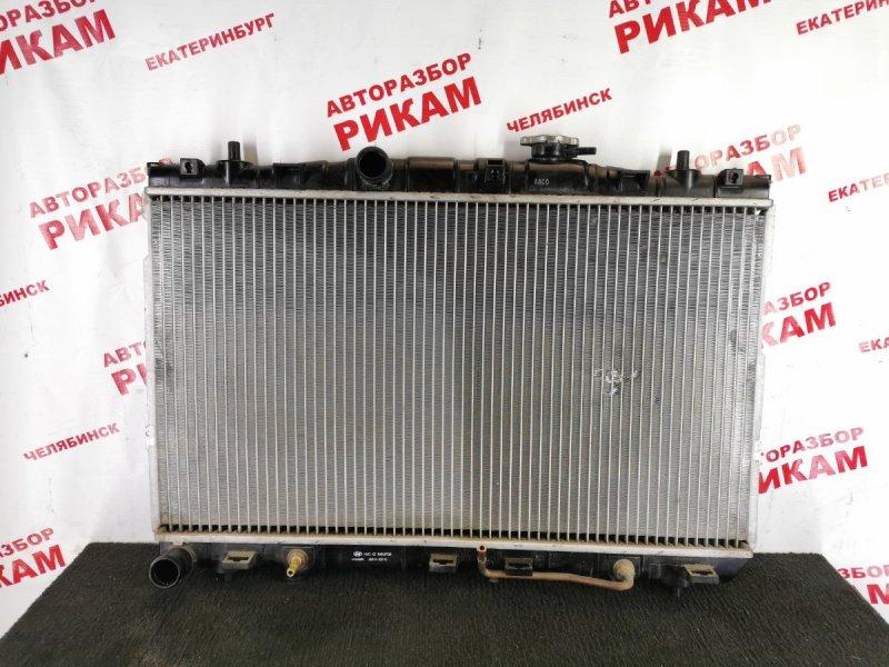 Радиатор охлаждения Hyundai Elantra XD G4GC 2005