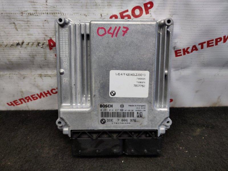 Блок управления Bmw X5 E70 M57D30 2007