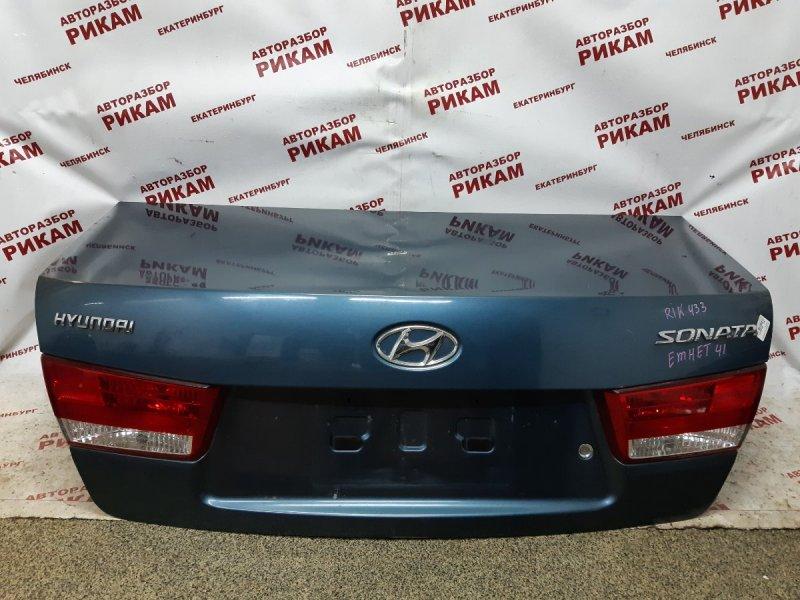 Крышка багажника Hyundai Sonata NF G4KC 2005