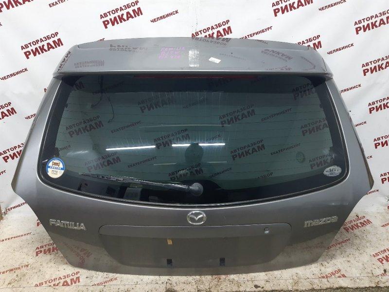 Дверь багажника Mazda Familia BJ5W ZL-DE 2000
