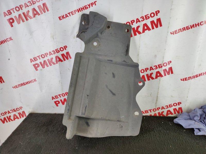 Защита двигателя Nissan Qashqai J10 MR20DE 2009 правая