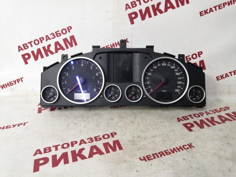 Панель приборов Volkswagen Touareg GP BHK 2007