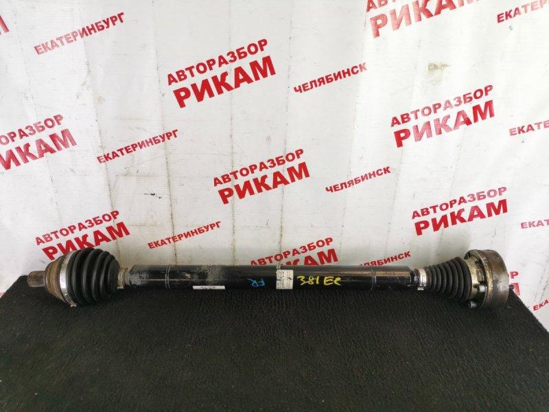Привод Skoda Yeti 5L CBZB 2011 передний правый