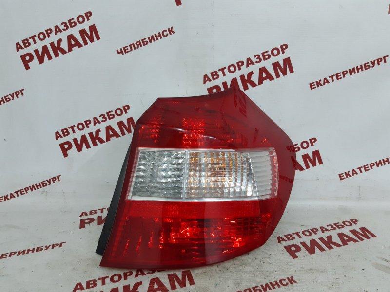 Стоп-сигнал Bmw 1-Series E87 N45B16 2005 задний правый