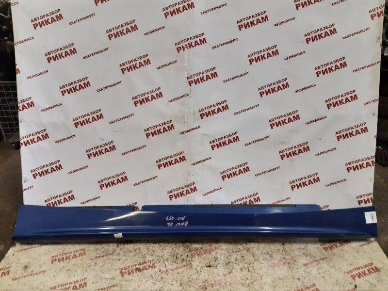 Накладка порога Bmw 1-Series E87 N45B16 2005 правая