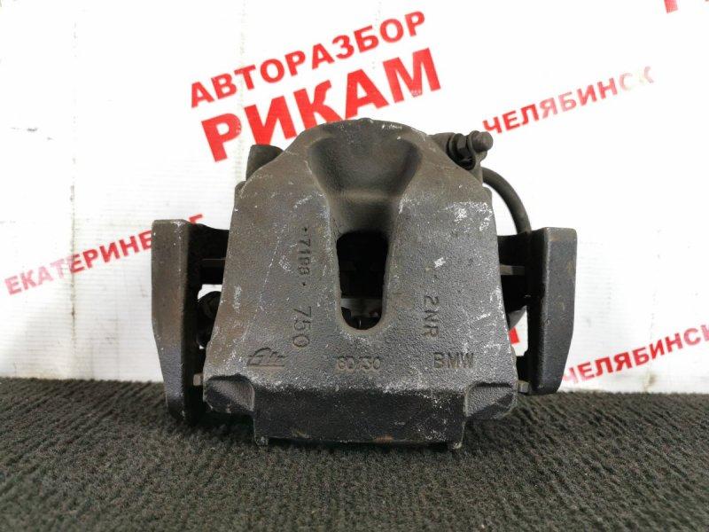 Суппорт тормозной Bmw X5 E70 M57D30 2007 передний левый