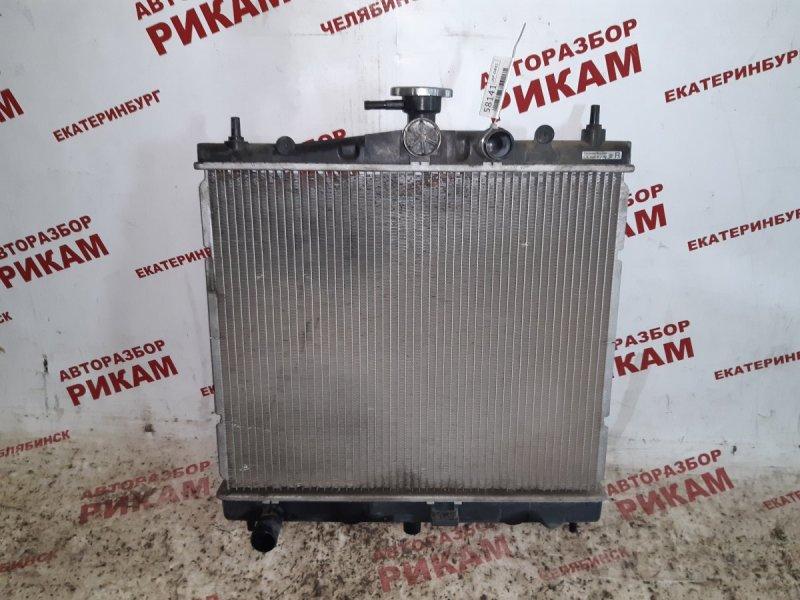 Радиатор охлаждения Nissan March AK12 CR12DE 2006