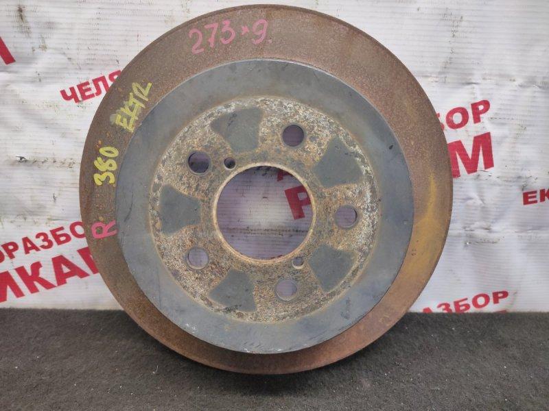 Диск тормозной Subaru Outback BP9 EJ253 2006 задний