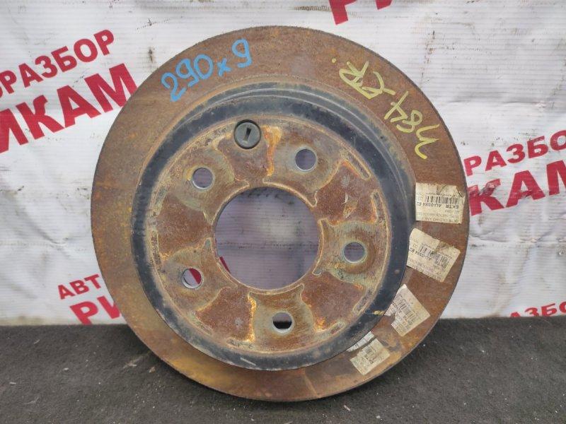 Диск тормозной Nissan Qashqai J10 MR20DE 2009 задний