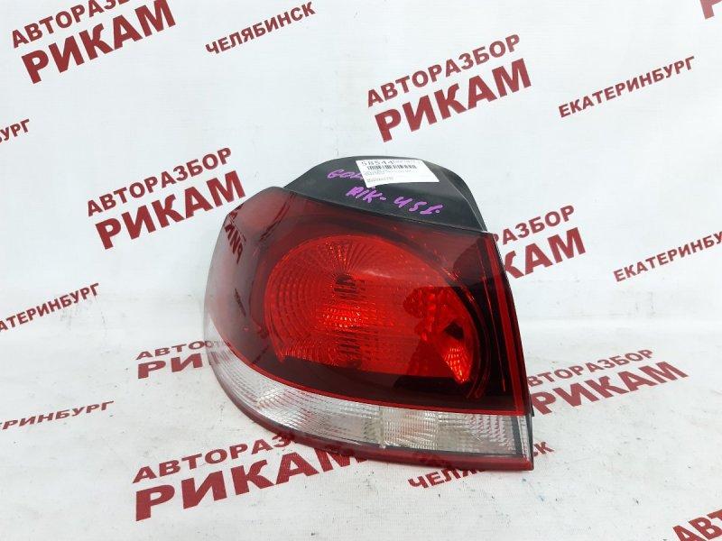 Стоп-сигнал Volkswagen Golf Vi 5K1 CAX 2012 задний левый