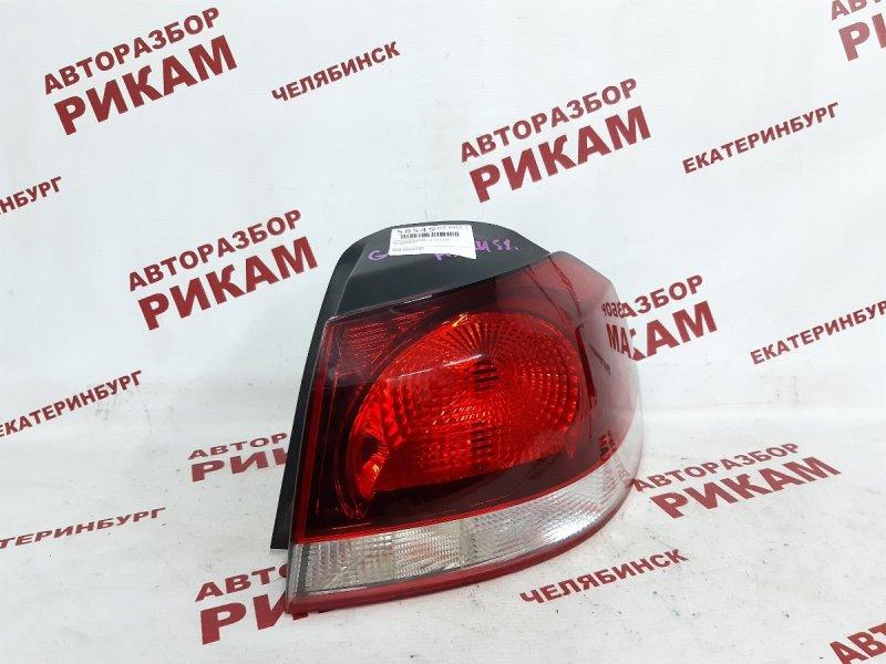 Стоп-сигнал Volkswagen Golf Vi 5K1 CAX 2012 задний правый