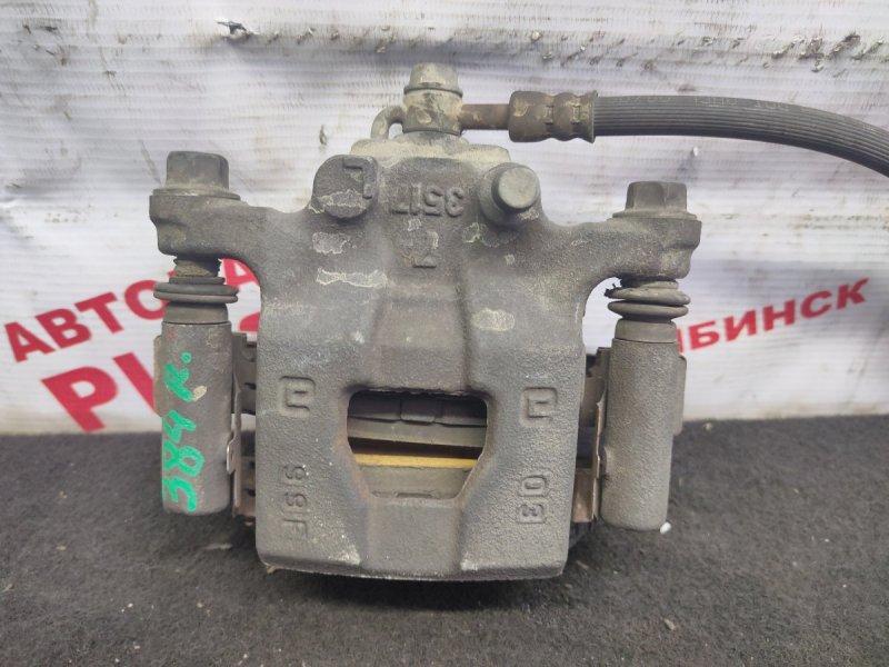 Суппорт тормозной Nissan Qashqai J10 MR20DE 2009 задний правый