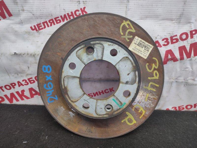 Диск тормозной Citroen C3 F TU5JP 2007 задний
