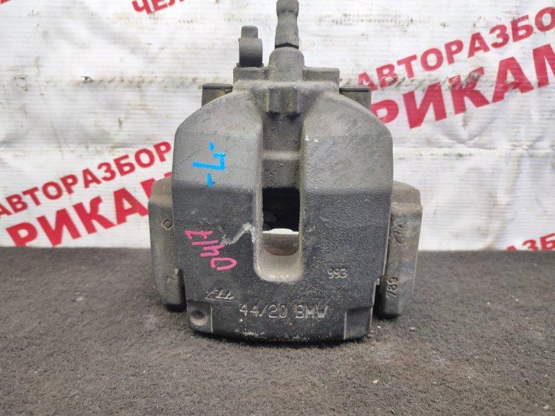 Суппорт тормозной Bmw X5 E70 M57D30 2007 задний левый