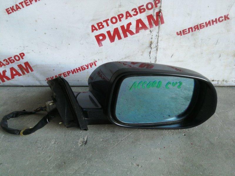 Зеркало Honda Accord CL7 переднее правое