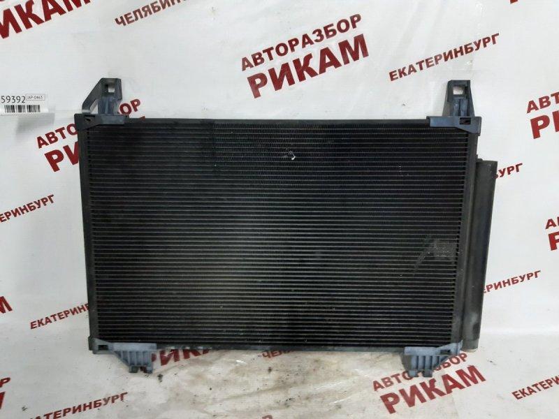Радиатор кондиционера Toyota Vitz SCP90 2SZ-FE 2005
