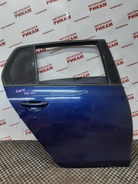 Дверь Volkswagen Golf Vi 5K1 CAX 2012 задняя правая
