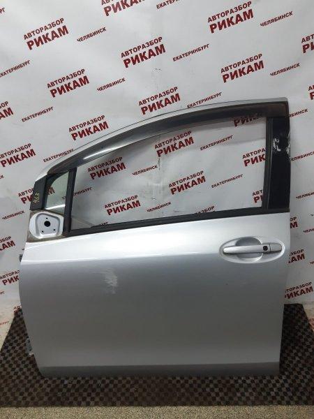 Дверь Toyota Vitz SCP90 2SZ-FE 2005 передняя левая